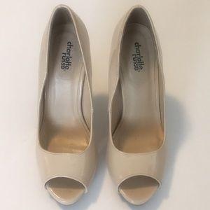 Charlotte Russe peep toe heels